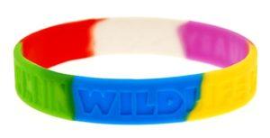 meerkleurige silicone armbandjes